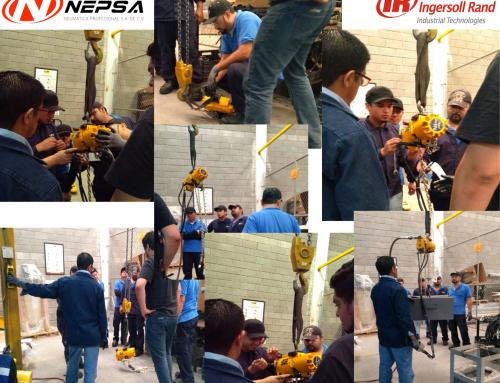 Training Nepsa a empleados de Metalsa