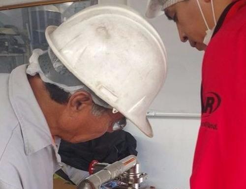 Training Nepsa a empleados de Fábrica de Cacahuates Sanchez.
